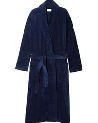 Derek Rose - Cotton-terry Robe - Lyst