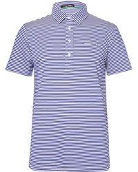 RLX Ralph Lauren - Airflow Striped Stretch-jersey Golf Polo Shirt - Lyst