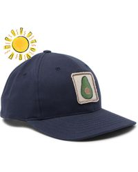 Hot Mollusk - Boys Appliquéd Baseball Cap - Lyst c241032ffc53