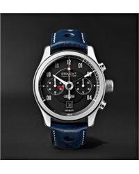 Bremont | Mkii Jaguar Automatic 43mm Stainless Steel And Alligator Watch | Lyst