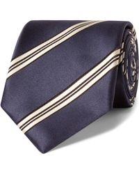Gucci - 8cm Striped Silk Tie - Lyst
