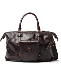 Montblanc - Heritage Leather Duffle Bag - Lyst