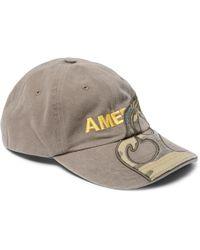 84968202e65 Vetements - + Reebok Embroidered Appliquéd Cotton-twill Baseball Cap - Lyst