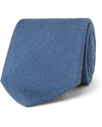 Drake's - 8cm Wool, Silk And Cashmere-blend Tie - Lyst