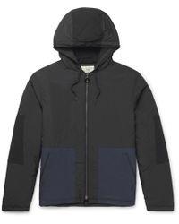 Folk - Padded Two-tone Shell Hooded Jacket - Lyst