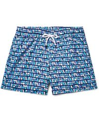 Frescobol Carioca - Bossa Short-length Printed Swim Shorts - Lyst