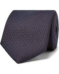 Brioni - 8cm Woven Silk Tie - Lyst