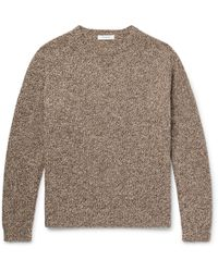 Nonnative - Tourist Mélange Shetland Wool Sweater - Lyst