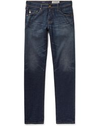 AG Jeans - Tellis Slim-fit Stretch-denim Jeans - Lyst