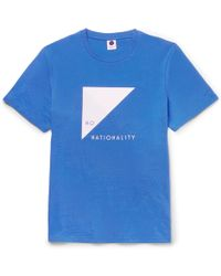 NN07 - Printed Cotton-jersey T-shirt - Lyst