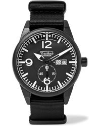 Techné - Harrier 386 41mm Aluminium And Nylon Watch - Lyst