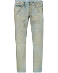 John Elliott - The Cast 2 Skinny-fit Stretch-denim Jeans - Lyst