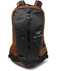 Arc'teryx - Arro 22 Nylon And Canvas Backpack - Lyst