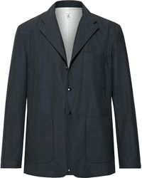 Arpenteur - Navy Jonction Cotton Blazer - Lyst