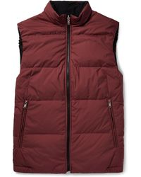 Theory | Reversible Quilted Shell Gilet | Lyst