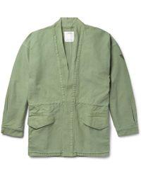 Visvim - Open Front Jacket - Lyst