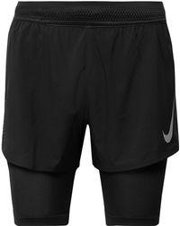 Nike - Aeroswift 2-in-1 Shorts - Lyst