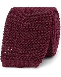 Canali - 6cm Knitted Wool Tie - Lyst