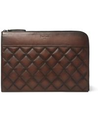 Berluti - Nino Quilted Leather Pouch - Lyst