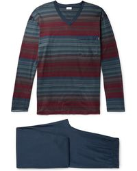 Zimmerli - Cotton-jersey Pyjama Set - Lyst