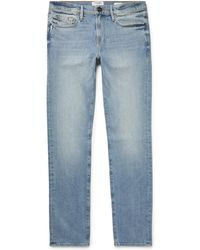 FRAME - L'homme Skinny-fit Stretch-denim Jeans - Lyst