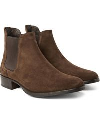 Tom Ford | Suede Chelsea Boots | Lyst