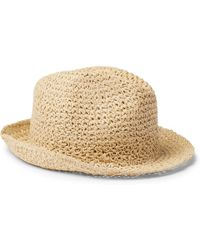 Altea - Straw Trilby Hat - Lyst