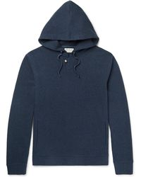 Oliver Spencer - Textured-cotton Hoodie - Lyst