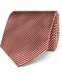 Tom Ford - 8cm Striped Silk Tie - Lyst