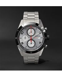 Montblanc - Timewalker Chronograph Automatic 43mm Stainless Steel And Ceramic Watch - Lyst