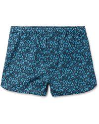 Derek Rose - Printed Cotton Boxer Shorts - Lyst