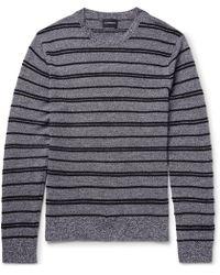 Club Monaco | Striped Merino Wool Jumper | Lyst