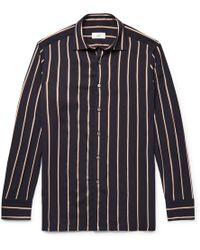 Dunhill - Striped Jacquard Shirt - Lyst
