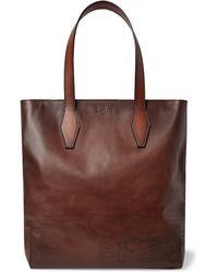 Berluti - Scritto Leather Tote Bag - Lyst