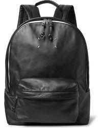 Maison Margiela - Full-grain Leather Backpack - Lyst
