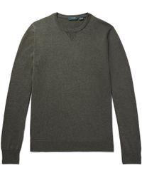 Incotex | Slim-fit Cotton Sweater | Lyst