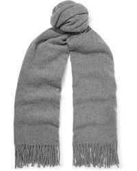 Acne Studios - Canada Fringed Mélange Wool Scarf - Lyst