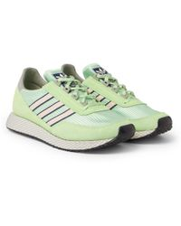 adidas Originals - Glenbuck Spzl Suede And Nylon Trainers - Lyst