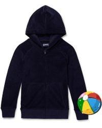 Vilebrequin - Boys Ages 2 - 12 Appliquéd Cotton-blend Terry Zip-up Hoodie - Lyst