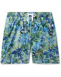 Onia - Long-length Printed Shell Swim Shorts - Lyst