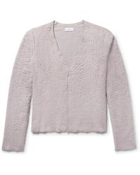 Fanmail - Organic Cotton Sherpa Cardigan - Lyst