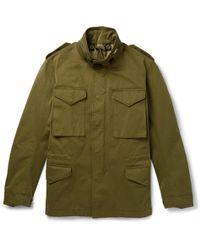 C P Company - Matte-shell Field Jacket - Lyst