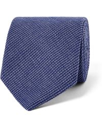Oliver Spencer - 8cm Lupin Cotton Tie - Lyst