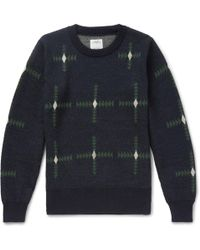 Visvim - Wool-jacquard Sweater - Lyst