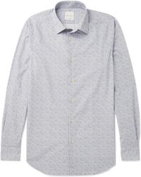 Paul Smith - Soho Cutaway-collar Paisley-print Cotton Shirt - Lyst