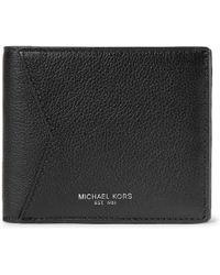 Michael Kors - Full-grain Leather Billfold Wallet - Lyst