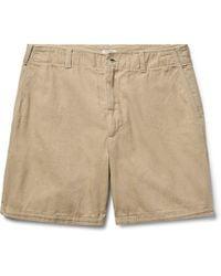 Eidos - Morgan Cotton Oxford Shorts - Lyst