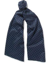 Engineered Garments - Polka-dot Cotton Scarf - Lyst