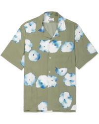 Acne Studios - Elms Camp-collar Printed Satin Shirt - Lyst