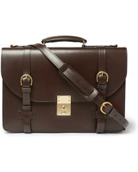 Kingsman - + Swaine Adeney Brigg Westminster Leather Briefcase - Lyst